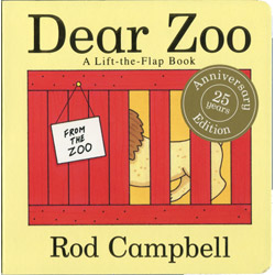 Dear Zoo : A Lift-the-flap Book ●Rod Campbell/作