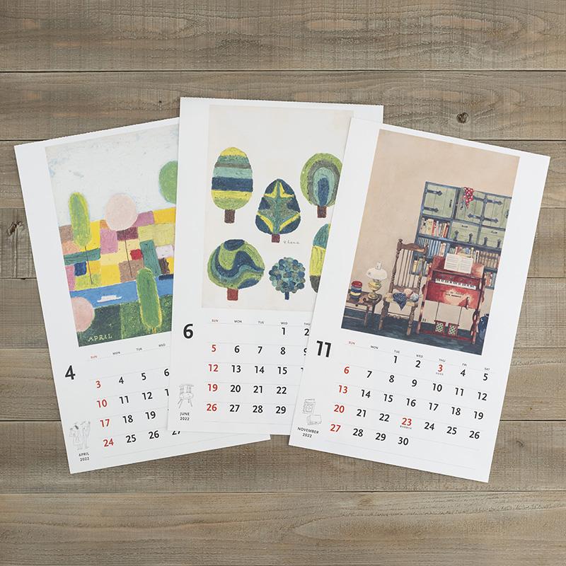 カレンダー・手帳フェア2021 (ナチュラルライフカレンダー)